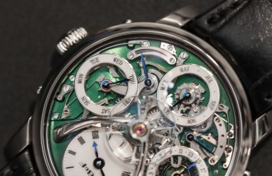 MB&F Legacy Machine Perpetual Titanium Hands-On Hands-On