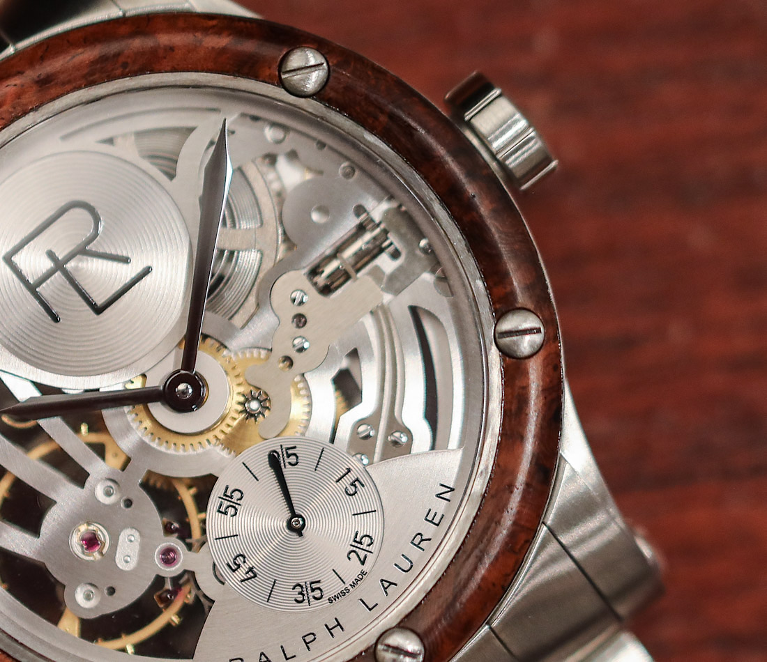 Ralph Lauren Automotive Skeleton Steel Watch Hands-On Hands-On