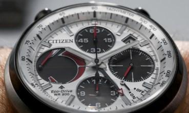 Citizen Tsuno Chronograph Racer Hands-On Hands-On