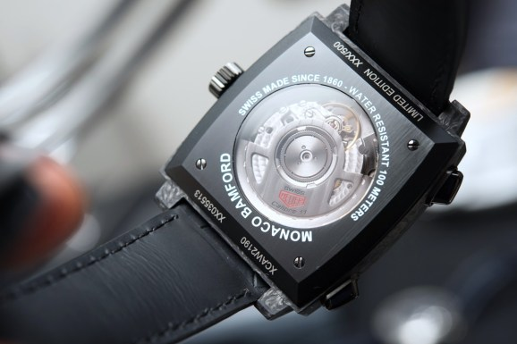 TAG Heuer Monaco Chronograph Forged Carbon Bamford Edition Hands-On