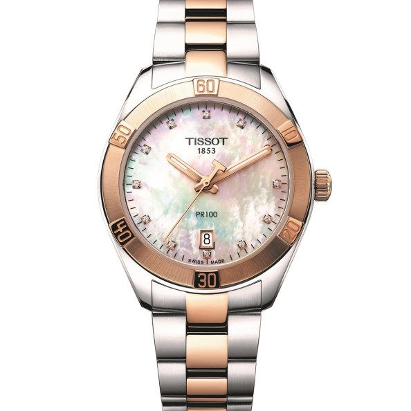 Tissot PR100 Sport Chic And Flamingo Ladies' Watches Watch Releases Watches for women