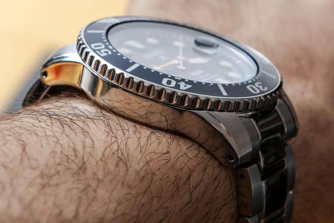 Seiko Prospex Solar Diver SNE435 PADI Watch Review   aBlogtoWatch