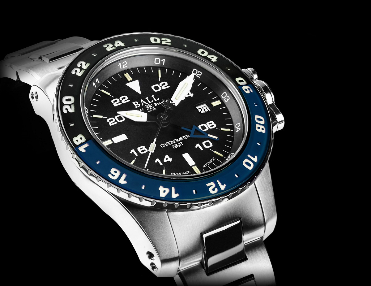 Ball engineer hydrocarbon aerogmt ii wright brothers limited edition watch ablogtowatch for Ball watches