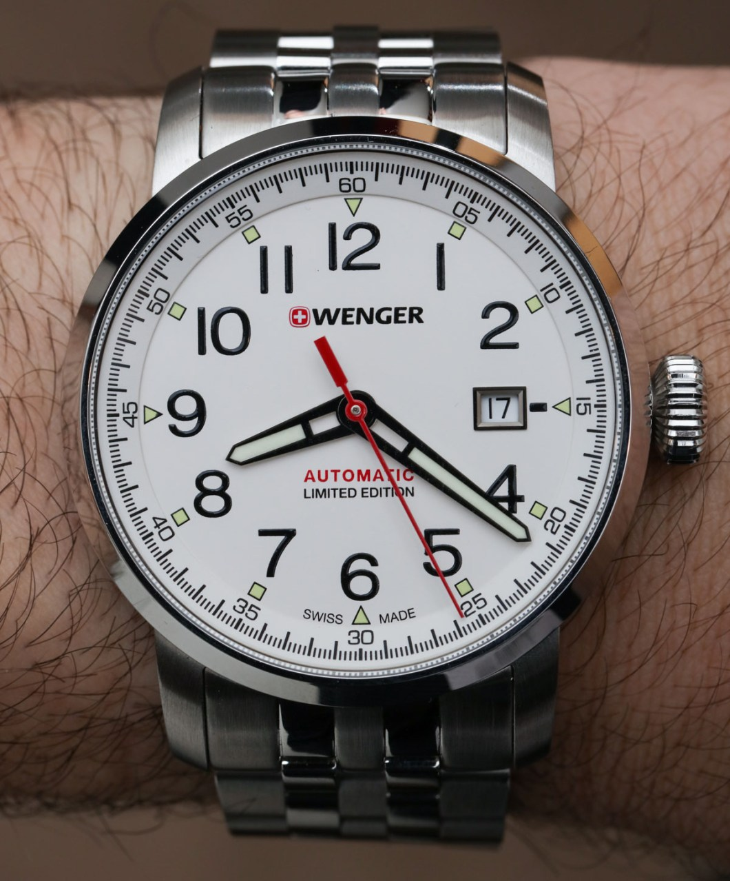 Wenger Attitude Heritage Automatique Watch Hands On
