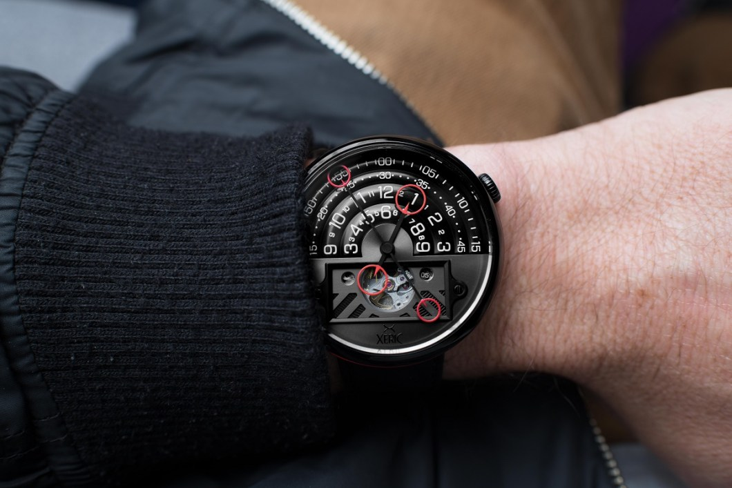 Xeric halograph ii automatic watch ablogtowatch for Watches xeric