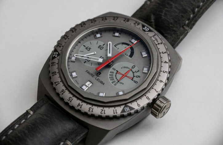 Favre-Leuba Raider Bivouac 9000 Watch Review Wrist Time Reviews