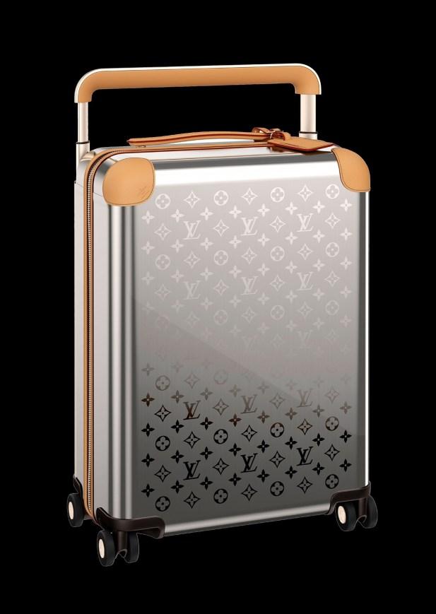Louis Vuitton Monogram Watch Trunk In Titanium And Ruthenium Luxury Items