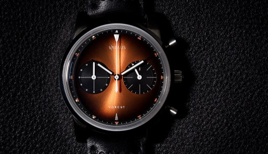 Vapaus Veli And 38mm Vorcut Chronograph Watches Watch Releases