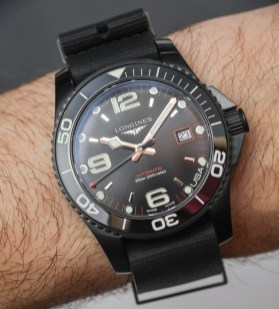 Longines HydroConquest & USA Edition Dive Watches Hands-On Hands-On
