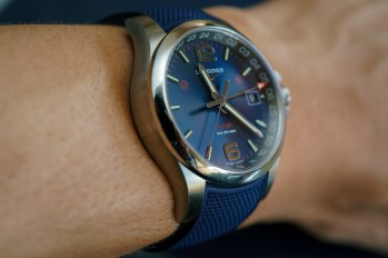 Longines Conquest V.H.P. GMT Flash Setting Watch Hands-On Hands-On