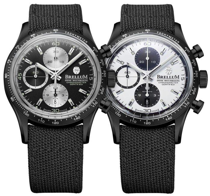 Brellum Pandial Black DLC Chronometer Watch Watch Releases