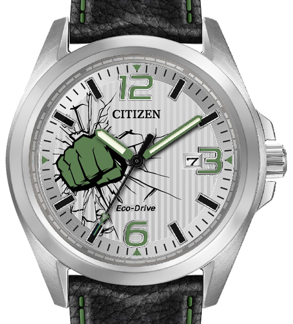 Citizen Eco-Drive Marvel Avengers Watches For Comic Con Watch Releases