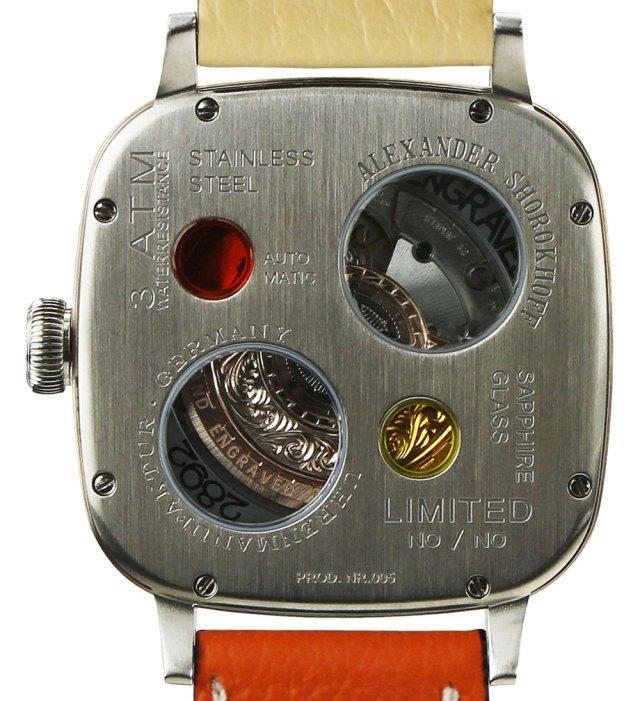 Alexander Shorokhoff Kandy Avantgarde Watch Watch Releases