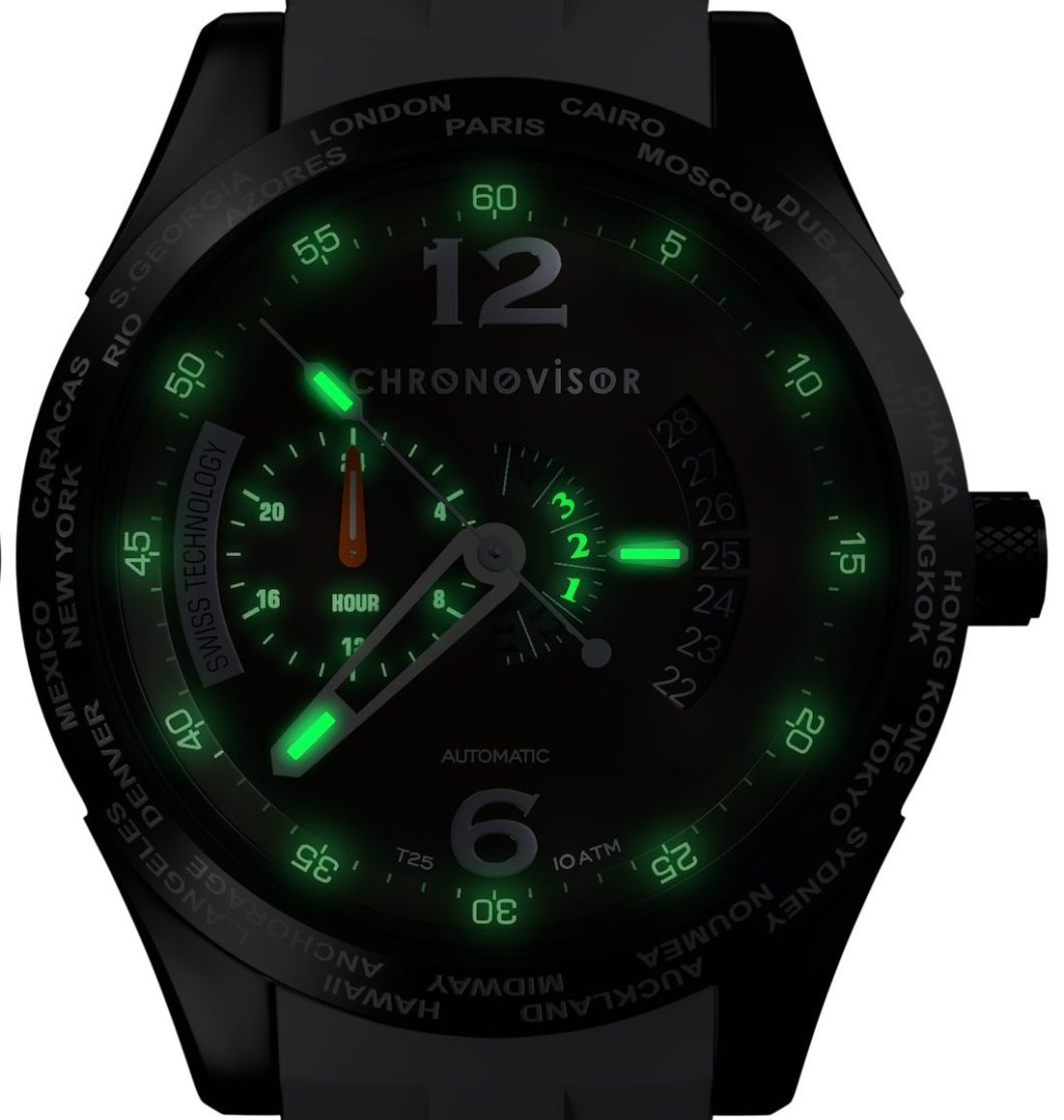 Chronovisor Pioneer Collection CVGM7102 Automatic Watch Watch Releases