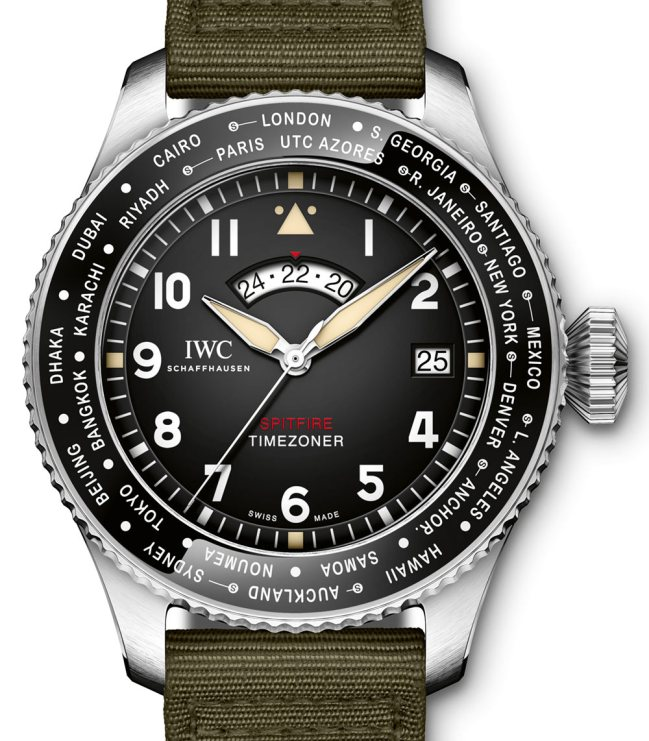 IWC Pilot's Watch Timezoner Spitfire Edition 'The Longest Flight' For SIHH 2019 Watch Releases