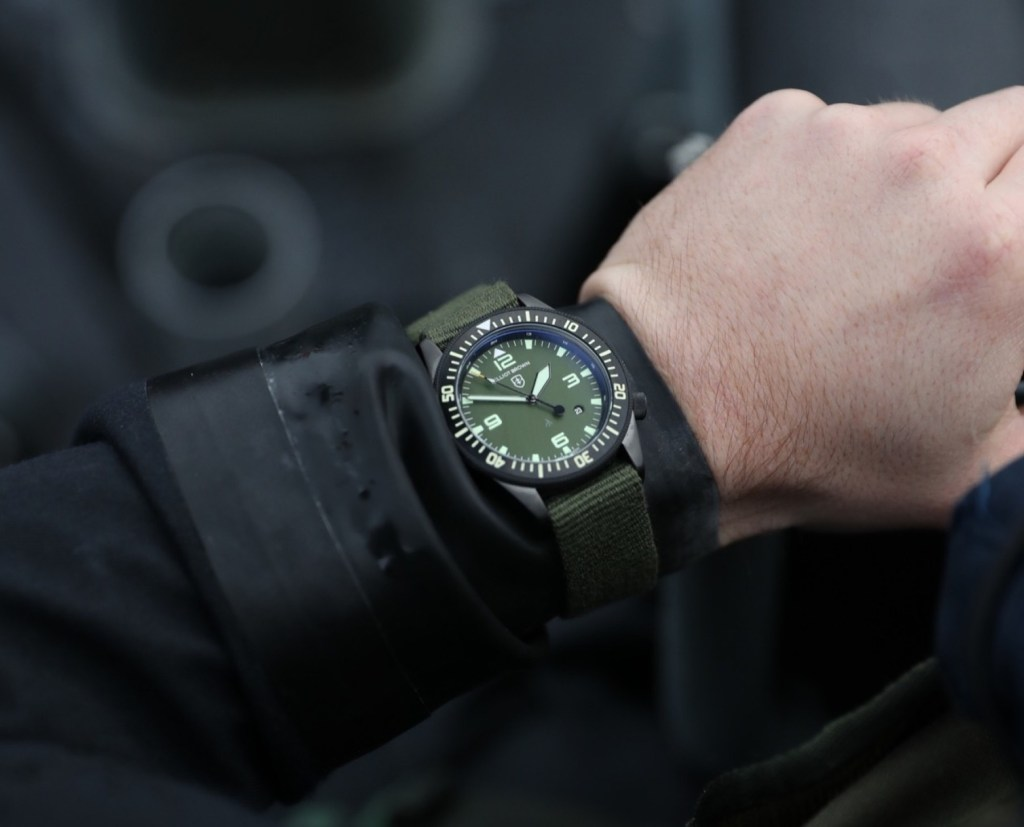 Elliot Brown Project 354 Holton Limited Edition Watch For Page & Cooper Hands-On Hands-On