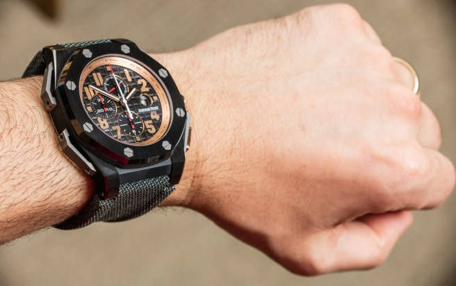 No Longer Made: Audemars Piguet Royal Oak Offshore Arnold Schwarzenegger The Legacy Watch Hands-On Hands-On