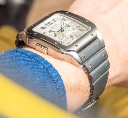 Cartier Santos Chronograph Watch New For 2019 Hands-On Hands-On