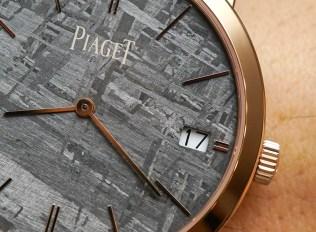 Piaget Altiplano Meteorite Watch Hands-On Hands-On