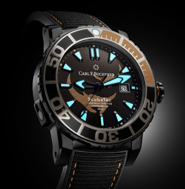 Carl F. Bucherer Patravi Scubatec Black Manta Special Edition Watch First Look