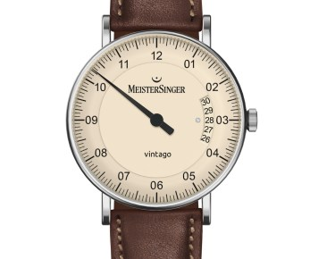 MeisterSinger Vintago Watch First Look