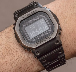 Casio G-Shock GMW-B5000V Aged IP Full-Metal Watch Hands-On Hands-On