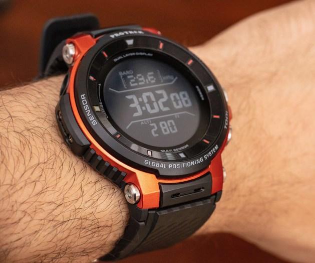 Casio Pro Trek Smart WSD-F30 Smartwatch Review Wrist Time Reviews