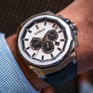 Corum Admiral AC-One 45 Chronograph Watches For 2019 Hands-On Hands-On