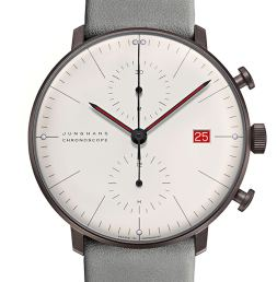 Junghans Max Bill Chronoscope 100 Jahre Bauhaus Watch Celebrates 100 Years Of Bauhaus Watch Releases