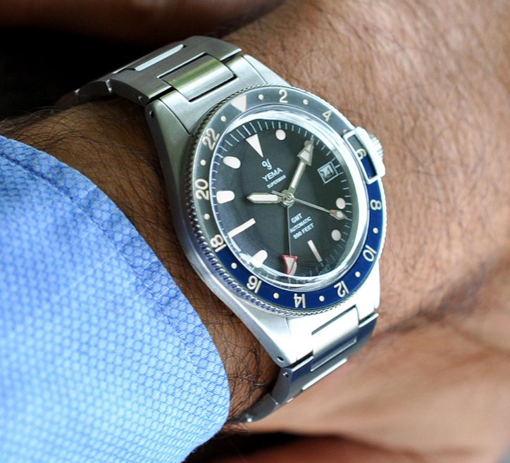 YEMA Superman Heritage GMT Watch Watch Releases