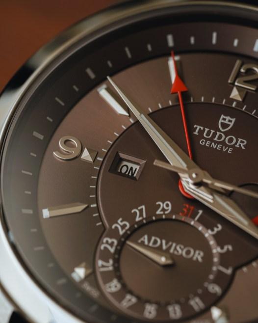 Tudor Heritage Advisor Mechanical Alarm Watch Hands-On Hands-On