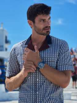 Carl F. Bucherer Patravi TravelTec Watch In Petrol Blue Watch Releases