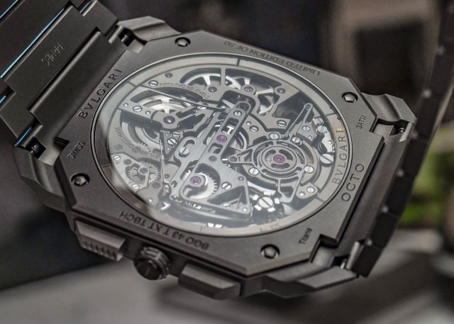 Hands-On: Bulgari Octo Finissimo Tourbillon Chronograph Skeleton Automatic Watch Hands-On