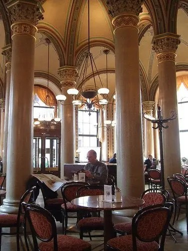 bibicall Café Central  - Vienna, Austria Austria Vienna  Vienna Food Coffee