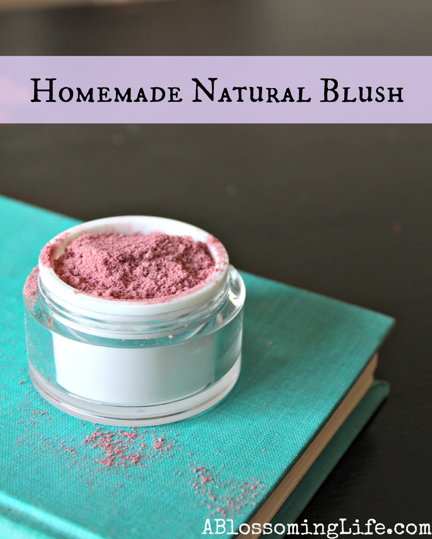 Homemade Natural Blush