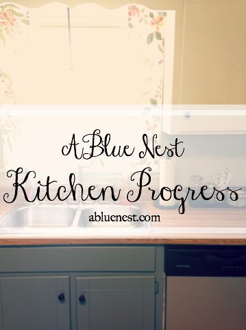 A Blue Nest kitchen progress