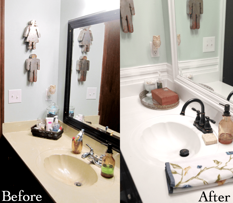 Bathroom Counter b&a2