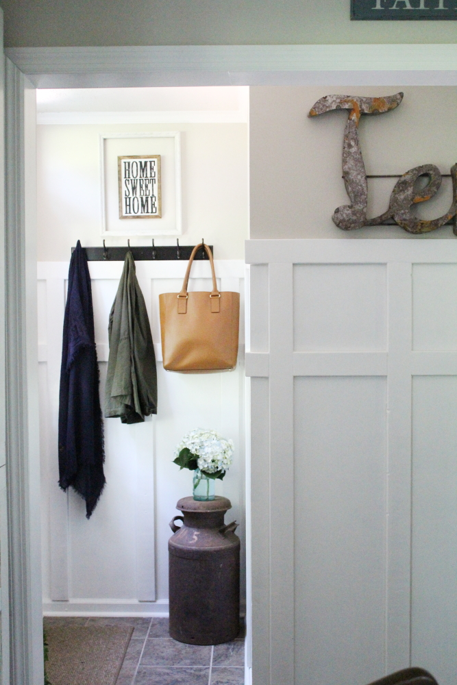 Tiny Entry Makeover | A Blue Nest