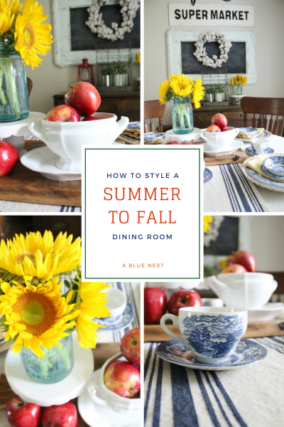 Summer to Fall Dining Room