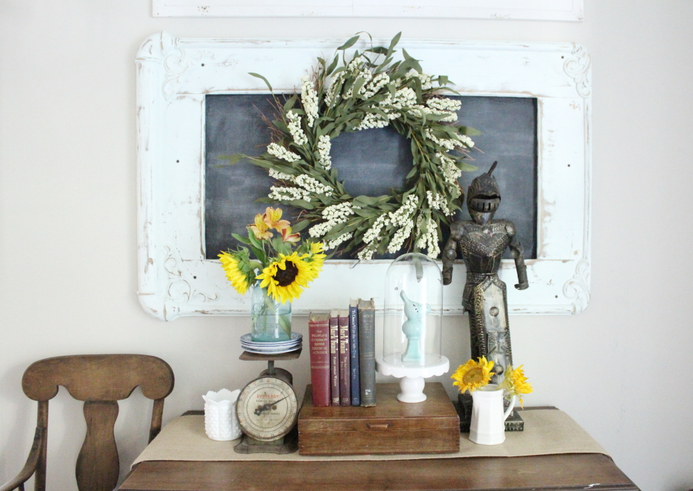 Decorating with Vintage Books | A Blue Nest