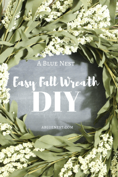 DIY Simple Fall Wreath