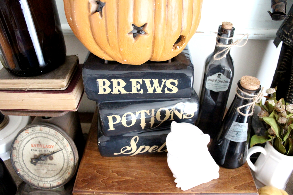 Harry Potter Halloween Series: Our Dining Room | A Blue Nest