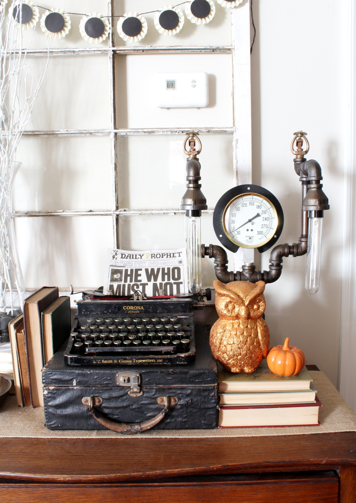 Harry Potter Halloween Series: Our Living Room | A Blue Nest