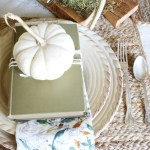 My Grateful Table: A Simple & Neutral Table Setting