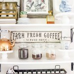 Five Tips for Creating a Coffee Bar