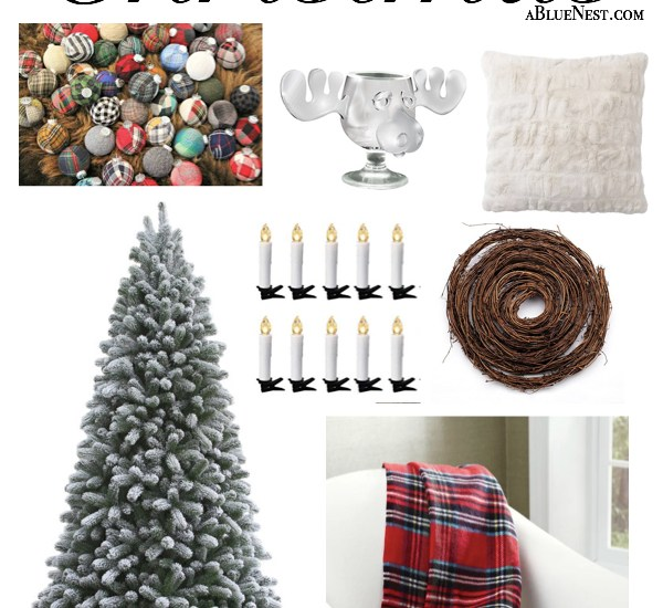 Christmas in July - Cozy Christmas Inspiration from A Blue Nest