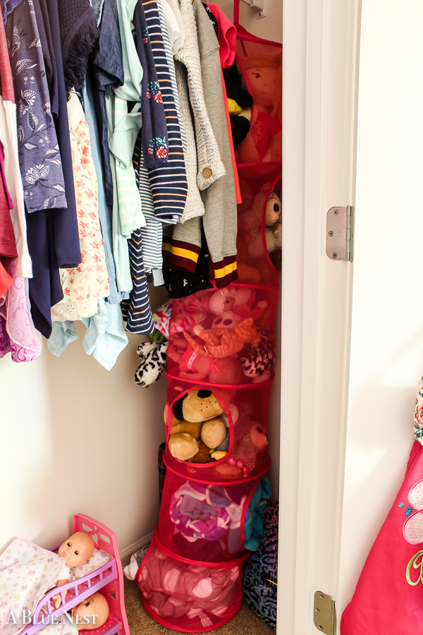Searching for simple ideas for toy storage? Look no further! See how I streamlined our daughter's room with affordable storage pieces in one day.