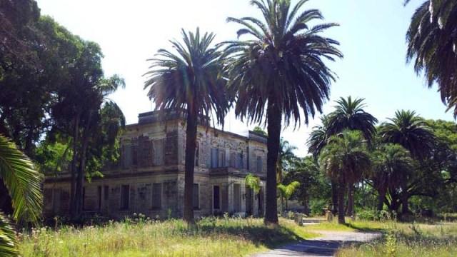 Verlassenes Anwesen bei Solis