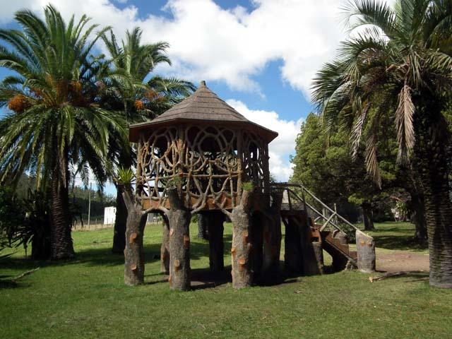 Freisitz im Park Castillo Piria