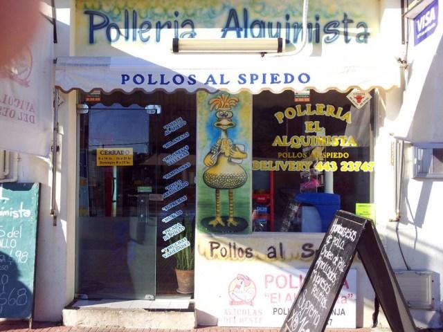 In diesem Laden kaufen wir die Menudos zu 30 UYPesos/Kilo = ca. 1,20 Euro